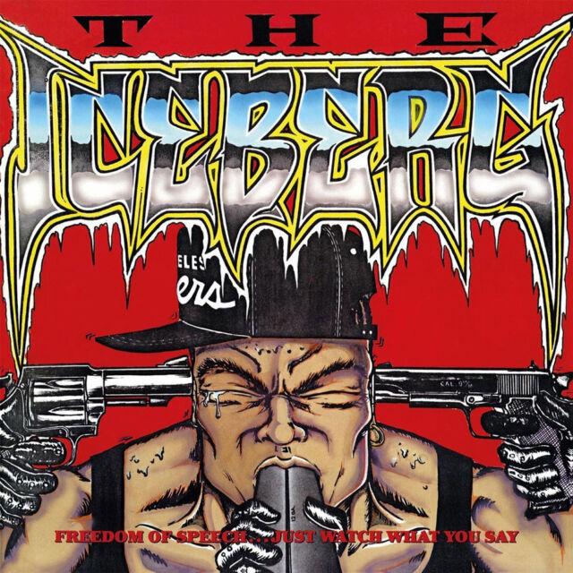 Ice-T - Iceberg / Freedom Of Speech (Vinyl LP - 1989 - EU - Reissue)