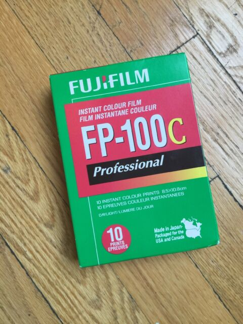 FujiFilm FP-100C Instant Colour Film - Professional EXPIRED 2013