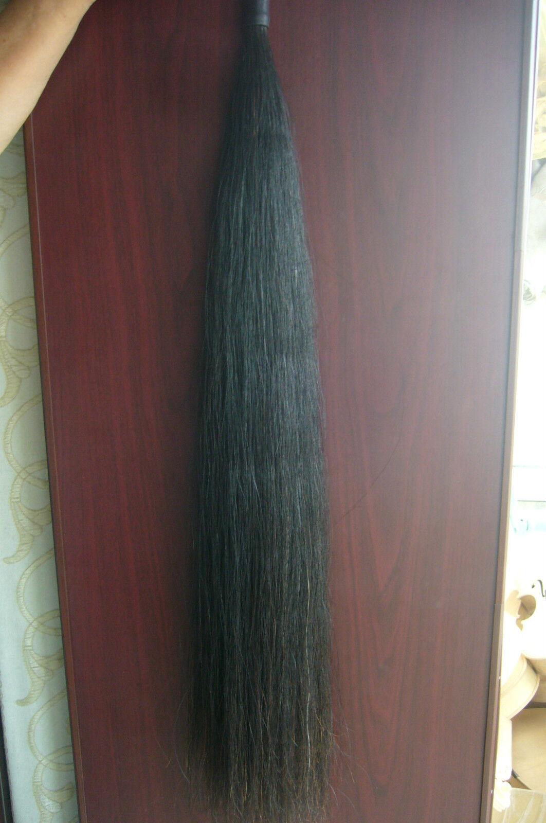 Original Black Horse Show Tail Hair Extension 70 76cm 170grams Ebay