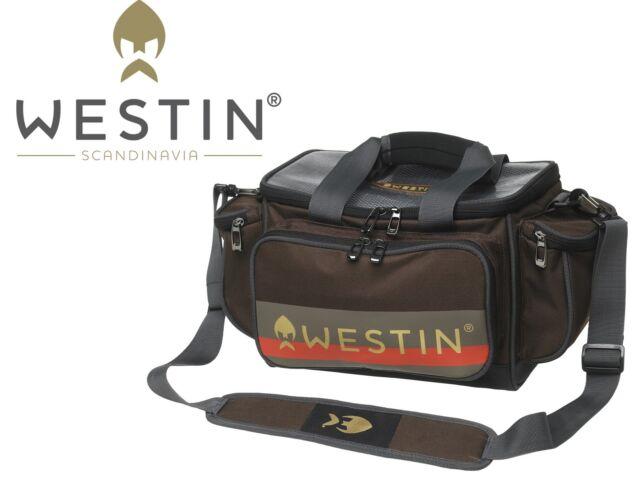 Westin W3 Lure Loader Small 45x25x22cm Angeltasche inkl.4 Angelboxen, Tacklebox