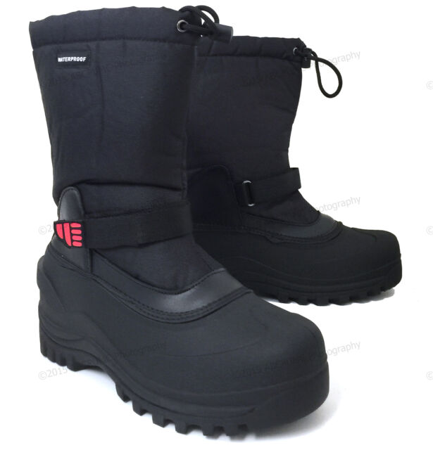 Mens Winter BOOTS Nylon 10