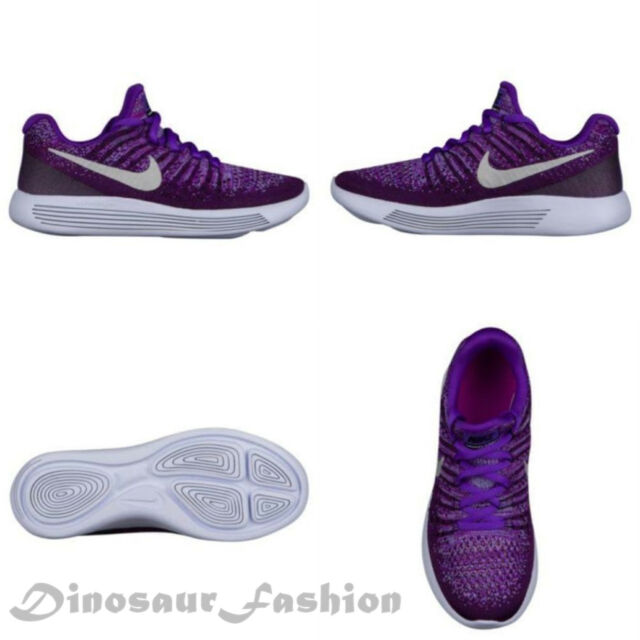 Nike LUNAREPIC LOW FLYKNIT 2 GS (869989-500) GIRL RUNNING Shoes.NWB