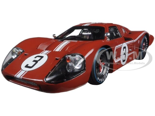 Ford Gt Mk Iv Brown  Lemans Andretti   Shelby Collectibles Sc