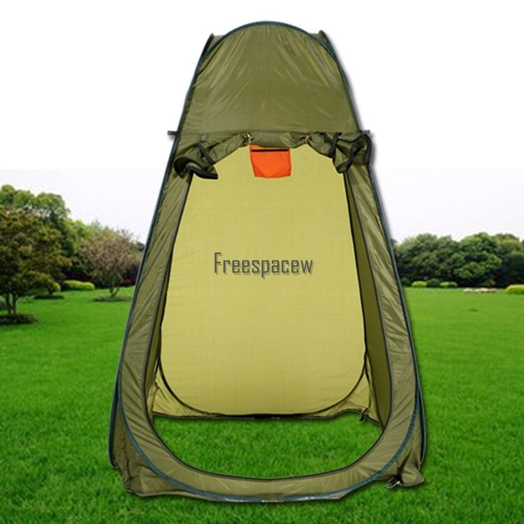 Picture 1 of 9 ...  sc 1 st  eBay & Portable Pop up Tent Camping Beach Toilet Shower Changing Room ...