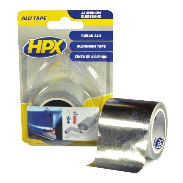 Klebeband Metall 50mm x 5m Montageband 120°C HPX Aluminiumband Reparaturkleber