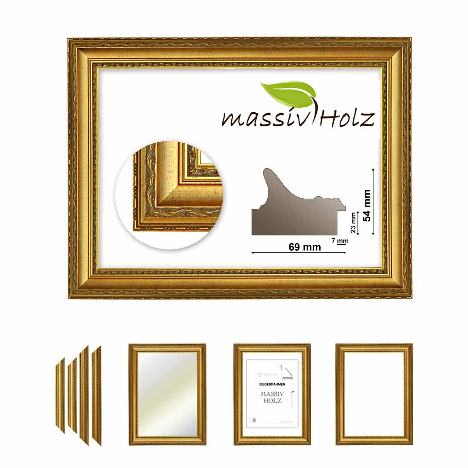 Baroque Frame 911 ORO Gold Fine Decorated Various Variations Cutting ...