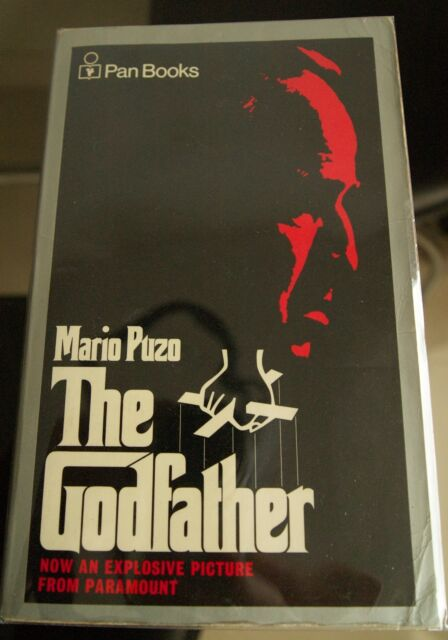 THE GODFATHER  vintage book signed by MARIO PUZO