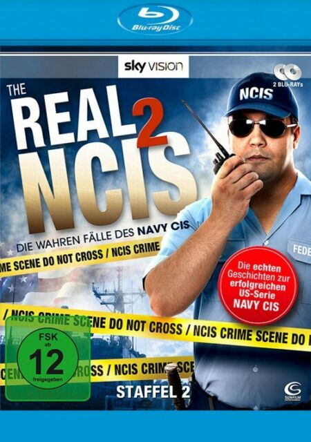 The Real NCIS - Staffel 2 # 2 Blu Ray Box