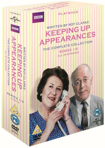 Keeping Up Appearances: Series 1-5 (Box Set) [DVD]