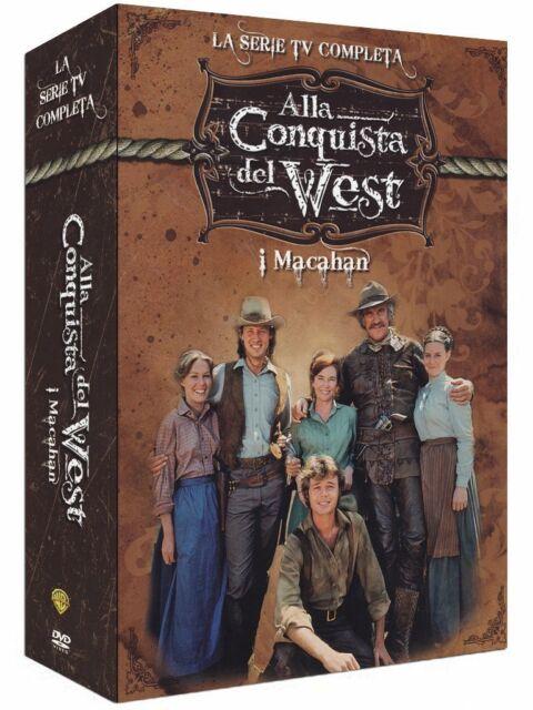 Alla conquista del West - I Macahan - La Serie TV Completa  (15 DVD)