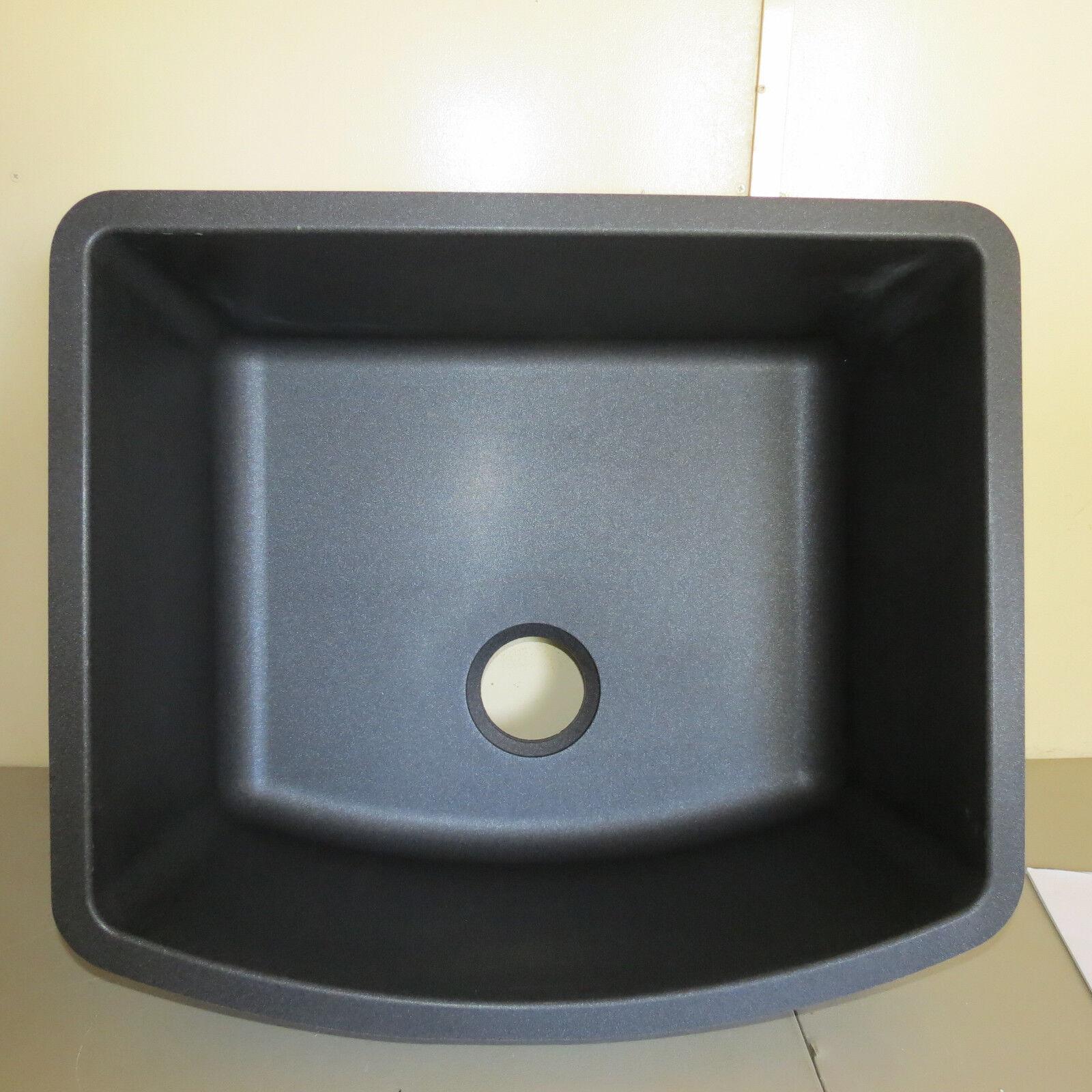 Blanco SILGRANIT Single Bowl Sink Undermount 440174 - Anthracite ...