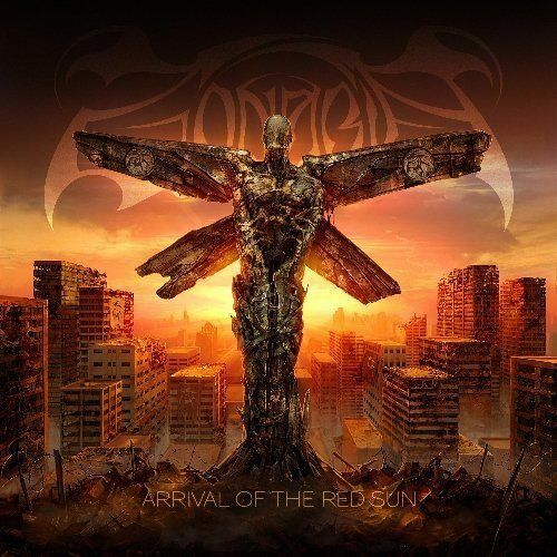 """Zonaria """"Arrival Of The Red Sun"""" SLIPCASE CD [Blackened Melodic Death Metal]"""