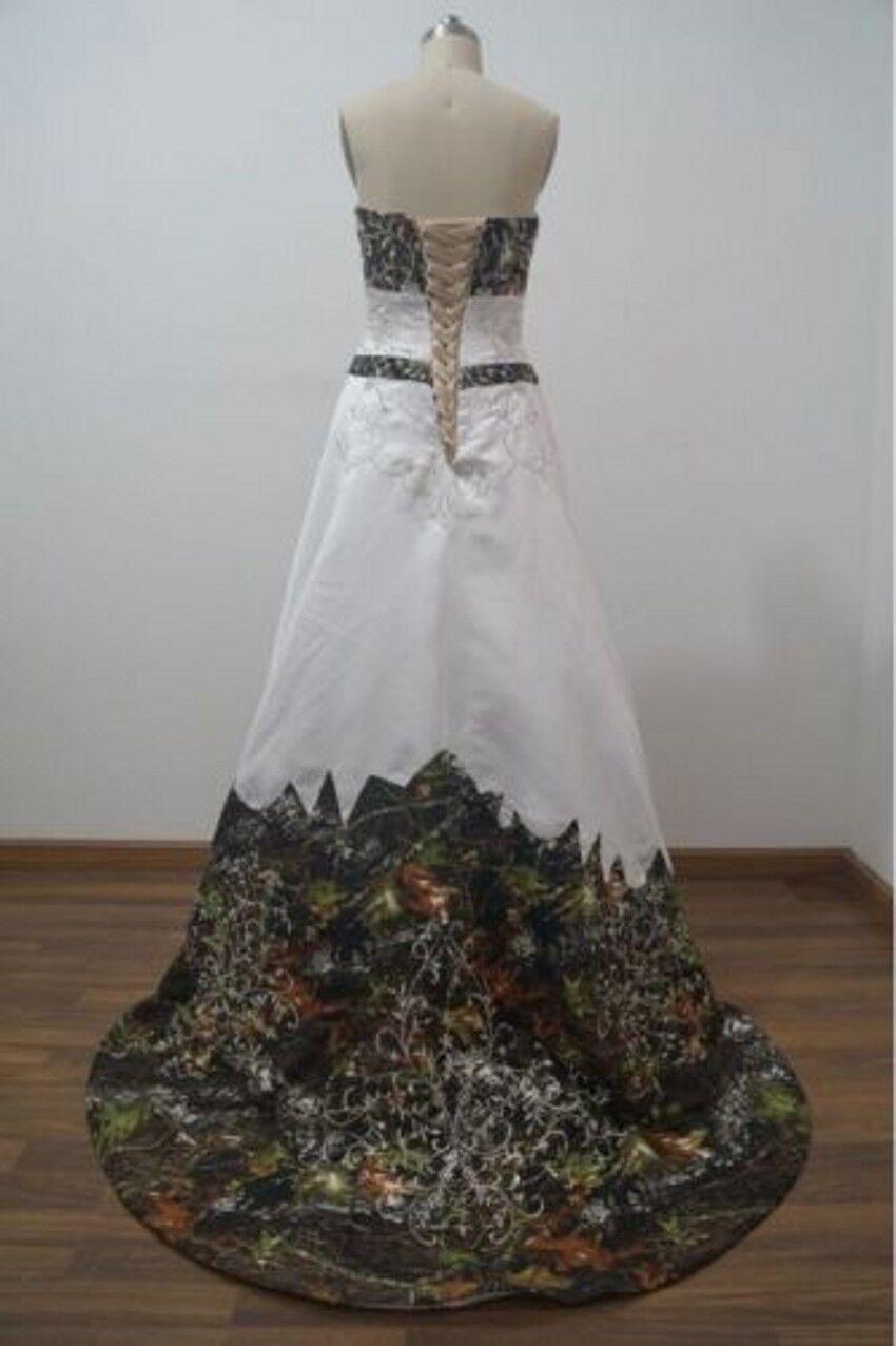 Camo Wedding Dress Ball Gown
