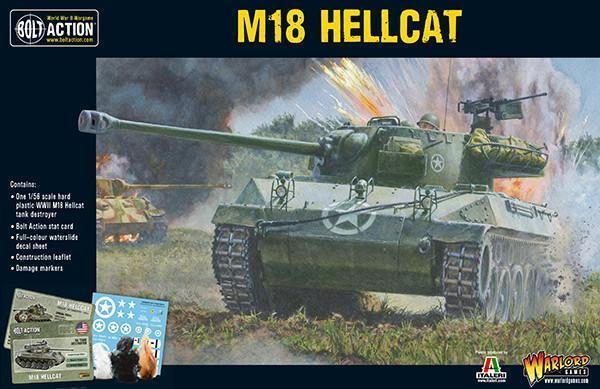 Warlord Games Bolt Action BNIB M18 Hellcat (402013004) WGB-402013004