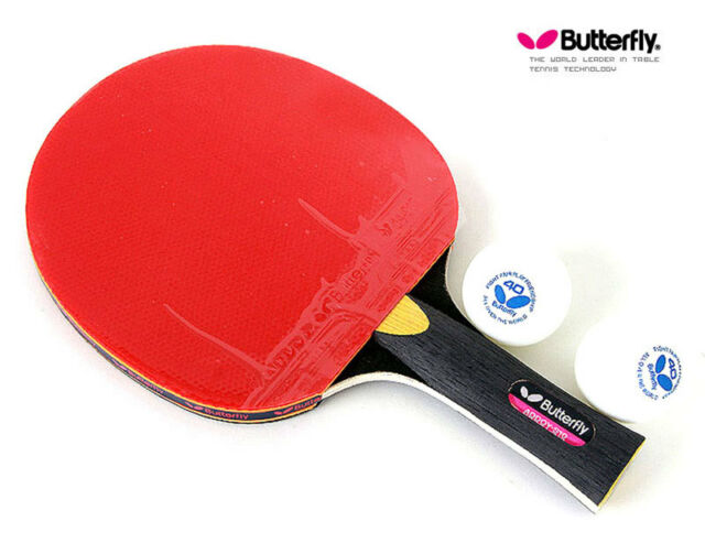 Butterfly Addoy S10 Table Tennis Racket Shakehand Grip Ping Pong ...
