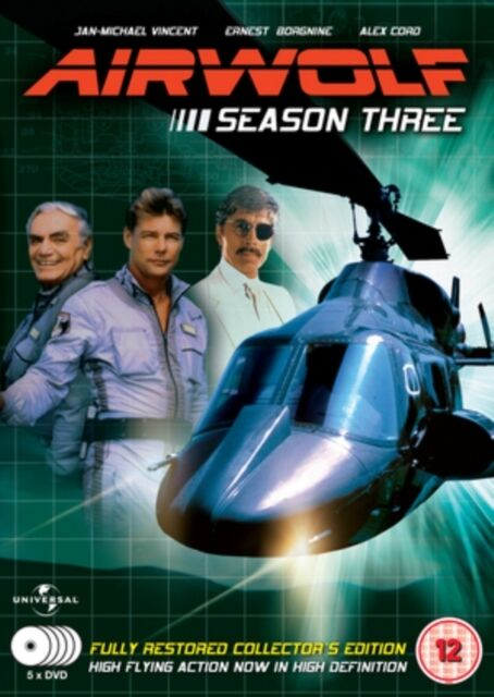 Airwolf - Complete Season 3 (5 Disc Box Set) [DVD], 5030697026736, Jan-Michael .