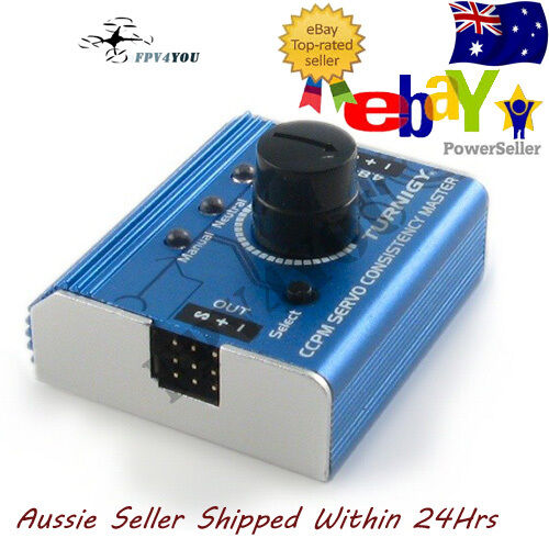 TURNIGY RC SERVO TESTER METAL CASING Plane Helicopter Quad Car Futaba  Free Post