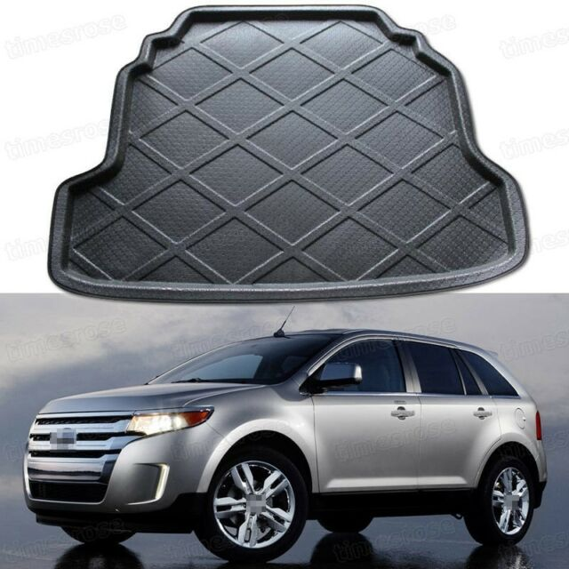 Black Car Rear Trunk Mat Cargo Boot Liner Tray For Ford Edge
