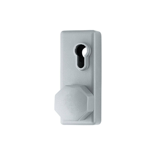 Panic Hardware Arrone Single Octagonal Knob for Access Doors Without Cylinder