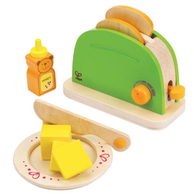 Hape E3105 Toaster aus Holz für die Kinderküche / Spielküche