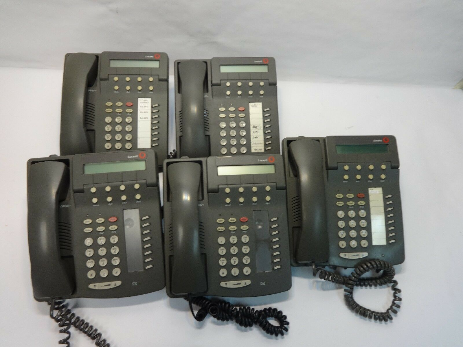 lot 5 lucent 6408d business grade 8 line office ethernet ip phone ebay rh ebay com lucent 6408d+ manual lucent 6408d+ manual