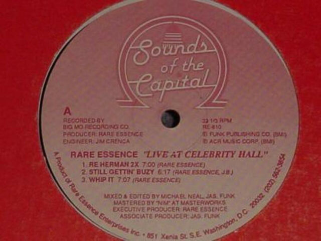 "12 "" US**RARE ESSENCE - LIVE AT THE CELEBRITY HALL / METRO CLUB (SEALED)***23253"