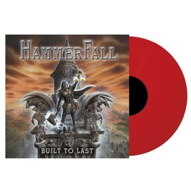 HAMMERFALL : Built To Last ( Ltd. Red Vinyl)  LP  NEU u. OVP