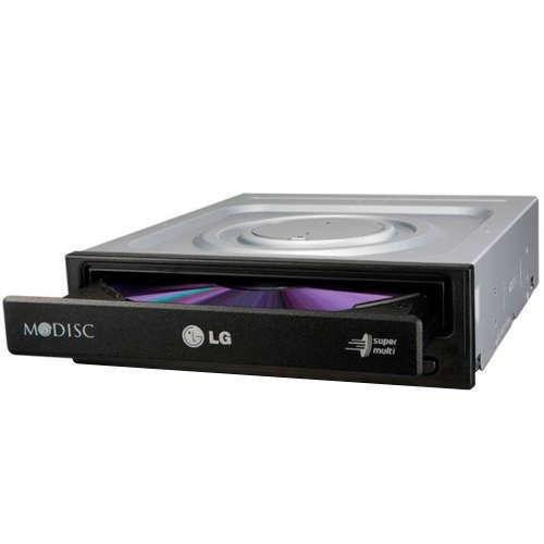 GRABADORA LG Regrabadora DVD-RW interna 24x BULK SATA NEGRO