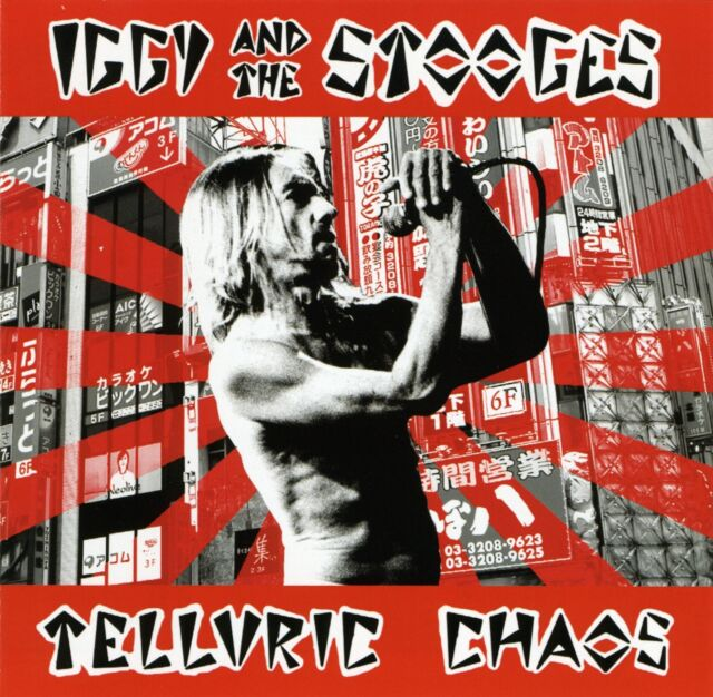 IGGY AND THE STOOGES 'Telluric Chaos' Japan 2004 sealed CD (card wallet version)