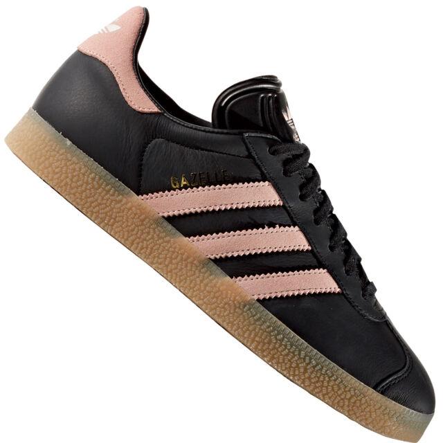 adidas originals gazelle w schuhe frauen sneaker trainer schwarz