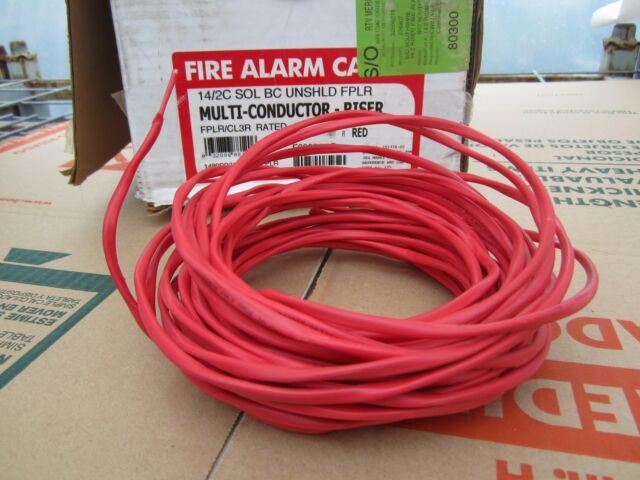 Made in U.s.a. Southwire Tappan Fire Alarm Cable 40 FT 14/2c Solid ...