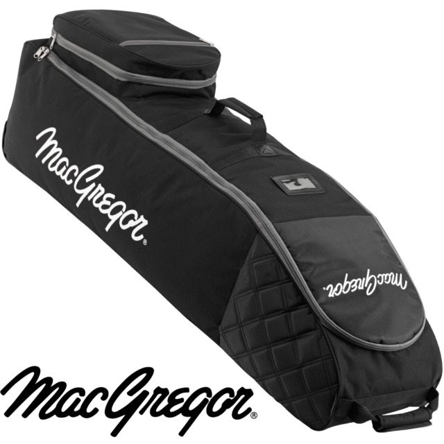 """""""50% OFF"""" MACGREGOR XL DELUXE WHEELED PADDED GOLF BAG FLIGHT COVER TRAVEL COVER"""