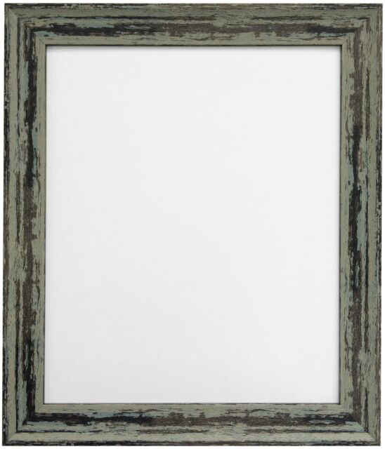 Distressed Industrial Green Picture Photo Frame 12 X 8 Inch | eBay