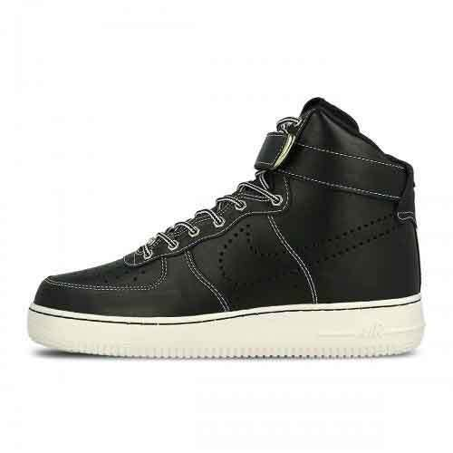 NEW!! Nike Air Force 1 High 07 LV8 WB Black/Black & Sail 882096 001 Mens Size 8