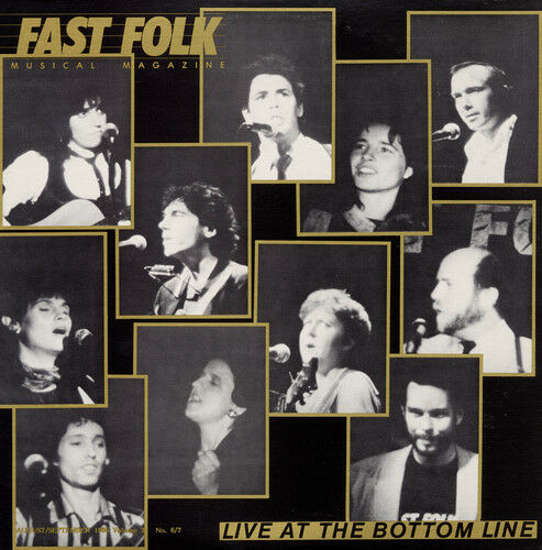 Various Artists, Fas - Fast Folk Musical Magazine (7) Live at 3 / Various [New C