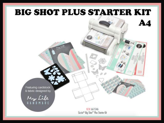 big shot plus a4 starter kit version 2017 de sizzix my. Black Bedroom Furniture Sets. Home Design Ideas