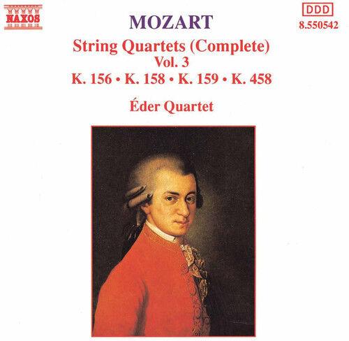 Eder Quartet, W.a. M - String Quartets 156, 158, 159 & 458 [New CD]