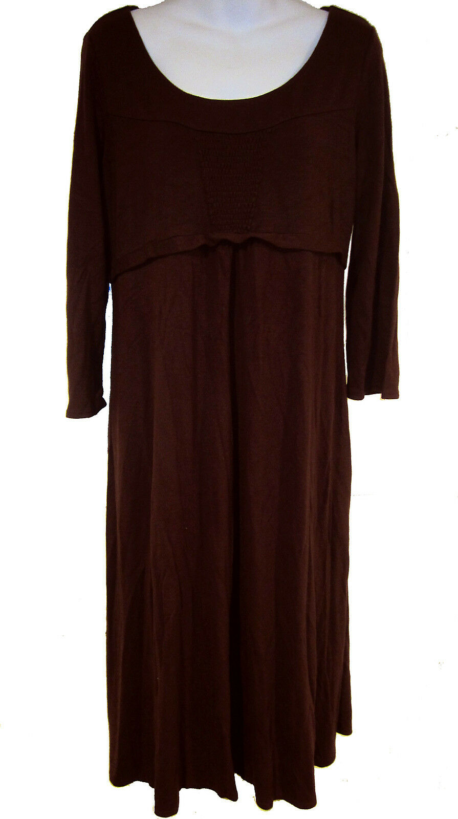 Ann taylor loft maternity dress sz 12 wine jersey knit ebay picture 1 of 4 ombrellifo Image collections
