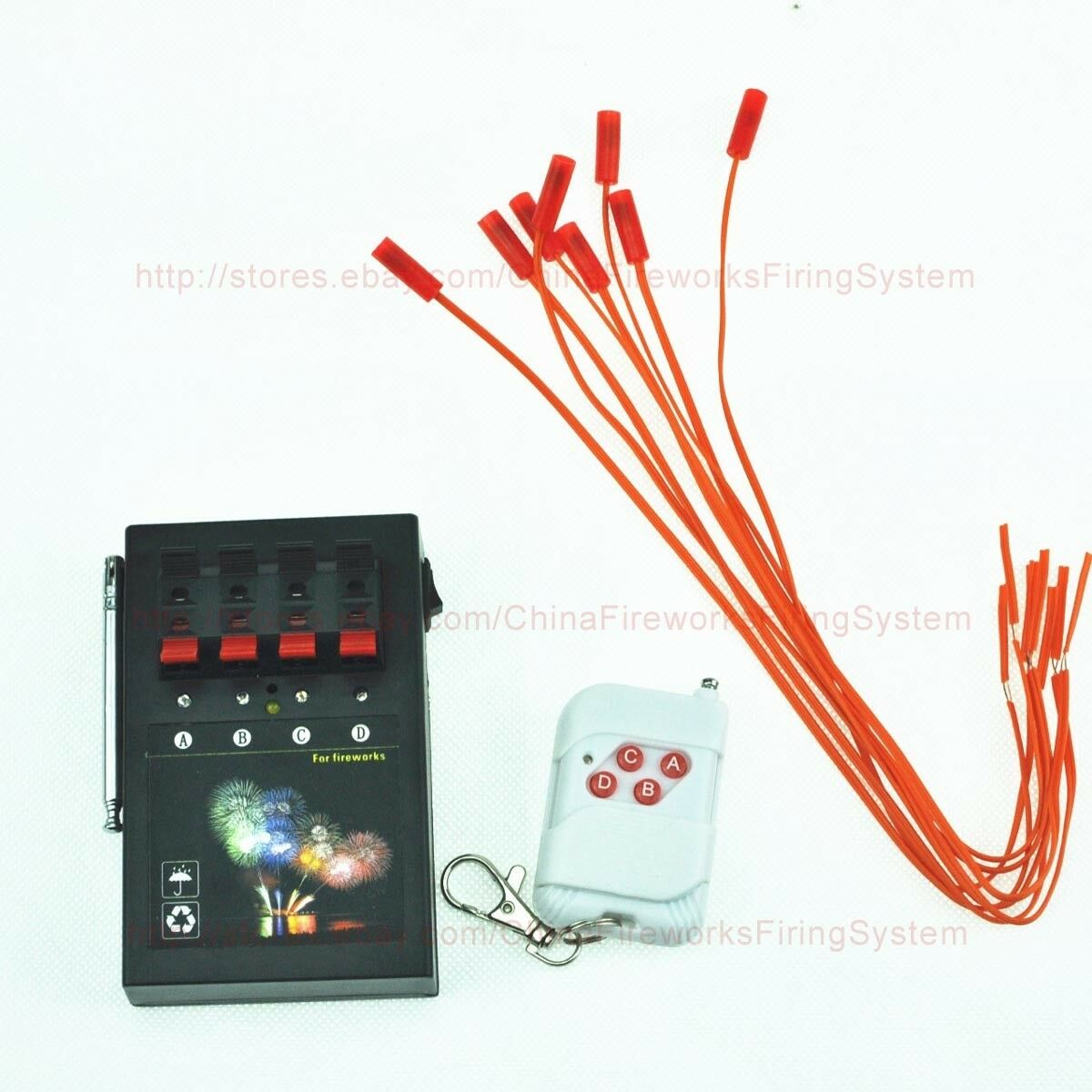 4cues Fireworks Firing System Programmable Remote Party Ebay Basics Of Electrical Firework And Pyrotechnics Picture 1 8
