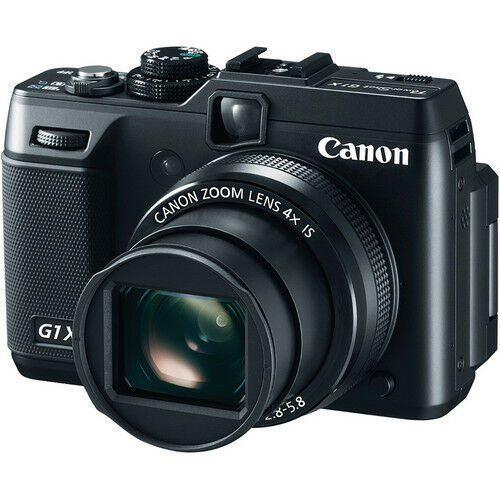 "Canon PowerShot G1 X 14.3MP 3"" LCD Digital Camera New"