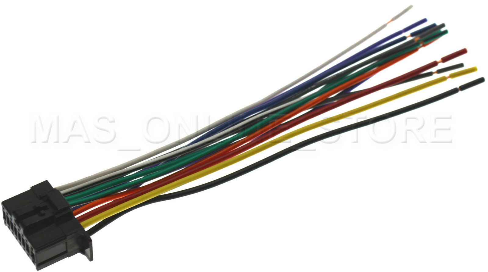 s l1600 wire harness for pioneer deh x6800bt dehx6800bt ebay pioneer deh-x6800bt wiring harness at edmiracle.co