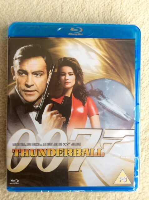 Thunderball (Blu-ray, 2013) BRAND NEW, FACTORY SEALED