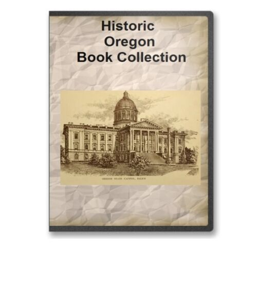 29 oregon or state county pioneer history culture family genealogy books b363
