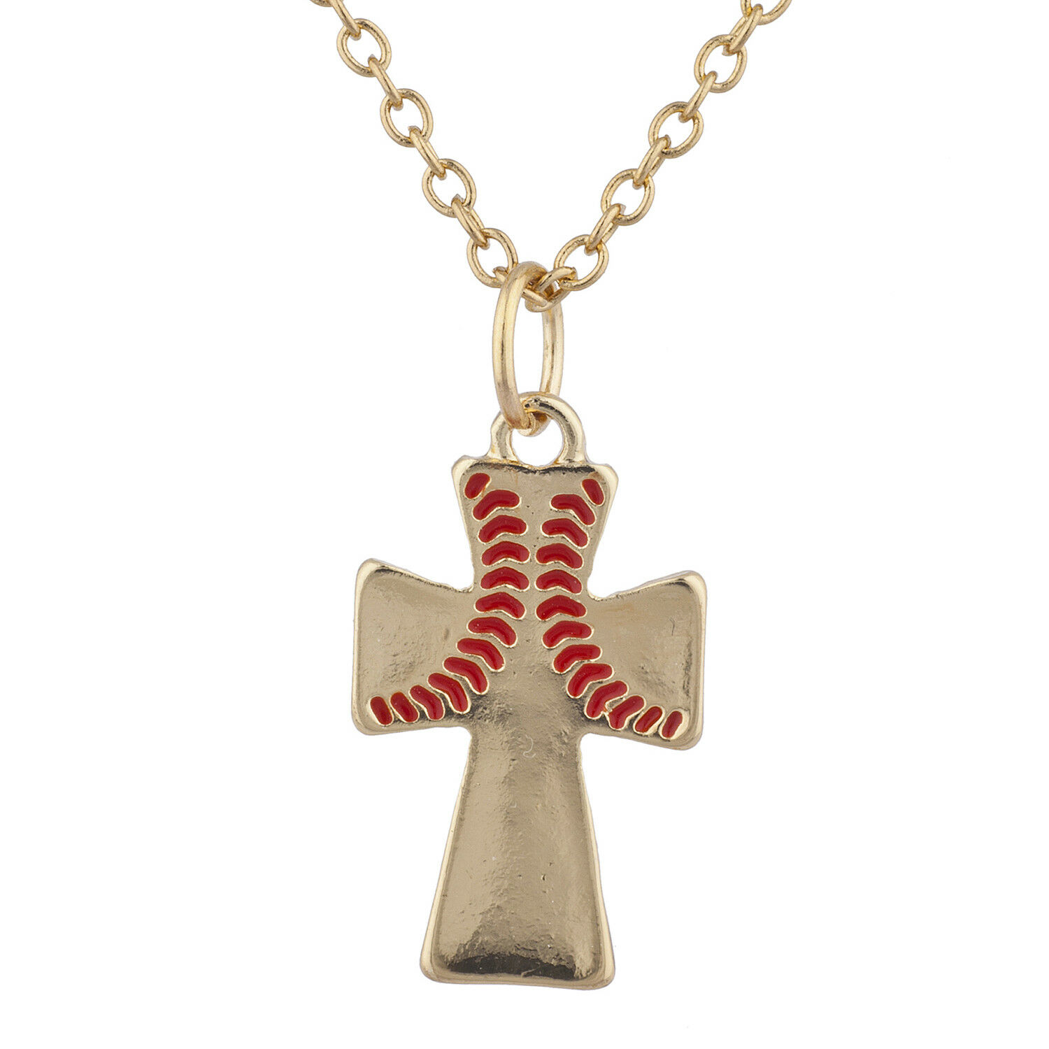 thecolorbars pendant baseball boys ball necklaces necklace cross for glamorous chain charm