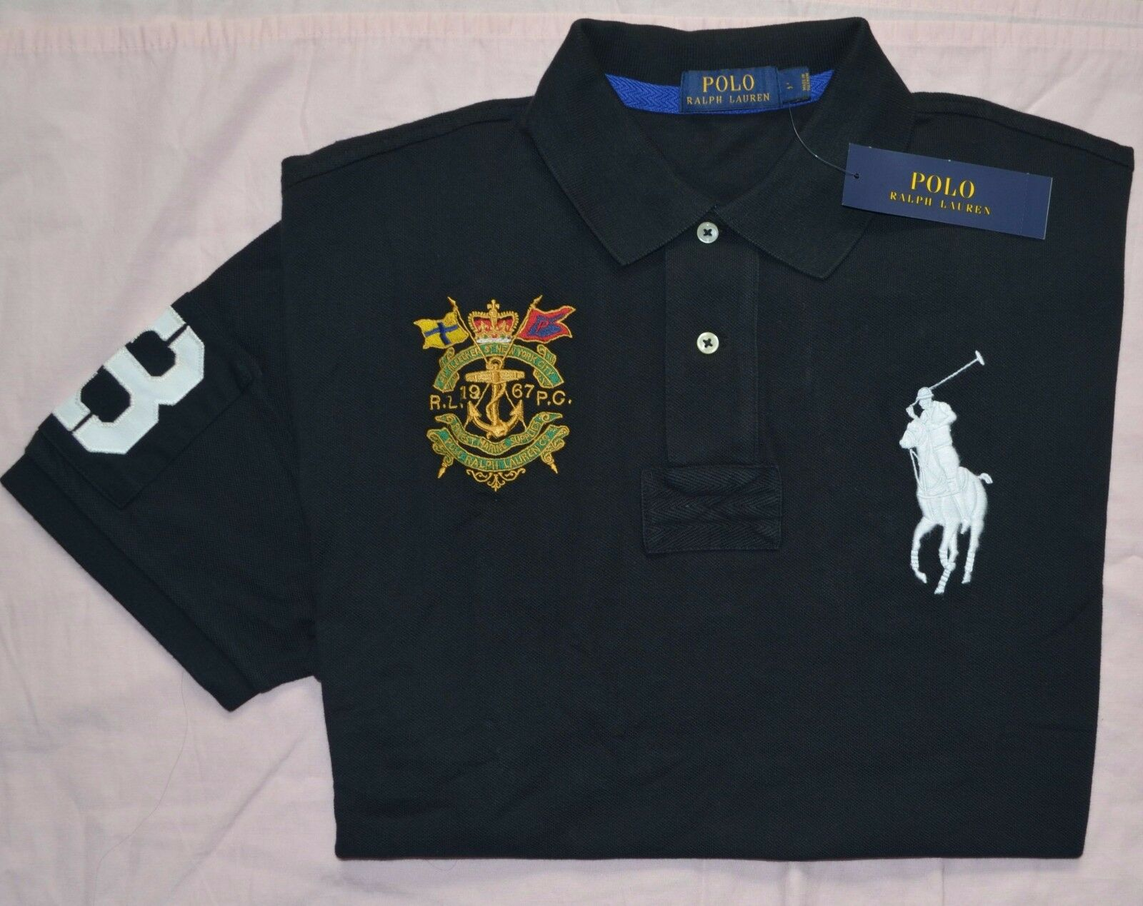 polo rugby jersey pony brand shorts