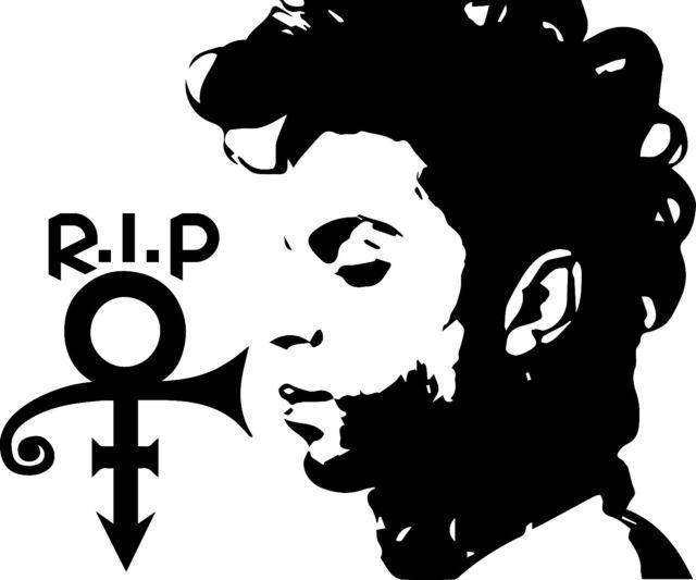Prince Rip Symbol Decal Sticker For Cartruck Laptop Window Custom