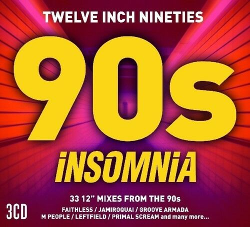 Various Artists - Twelve Inch 90s: Insomnia / Various [New CD] UK - Import