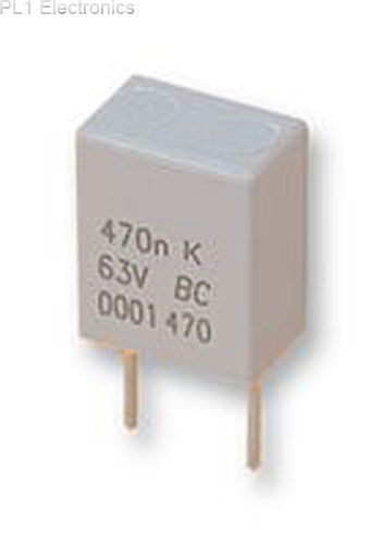 VISHAY BC COMPONENTS - BFC247076683 - CAPACITOR, 0.068UF, 63V Price For: 10