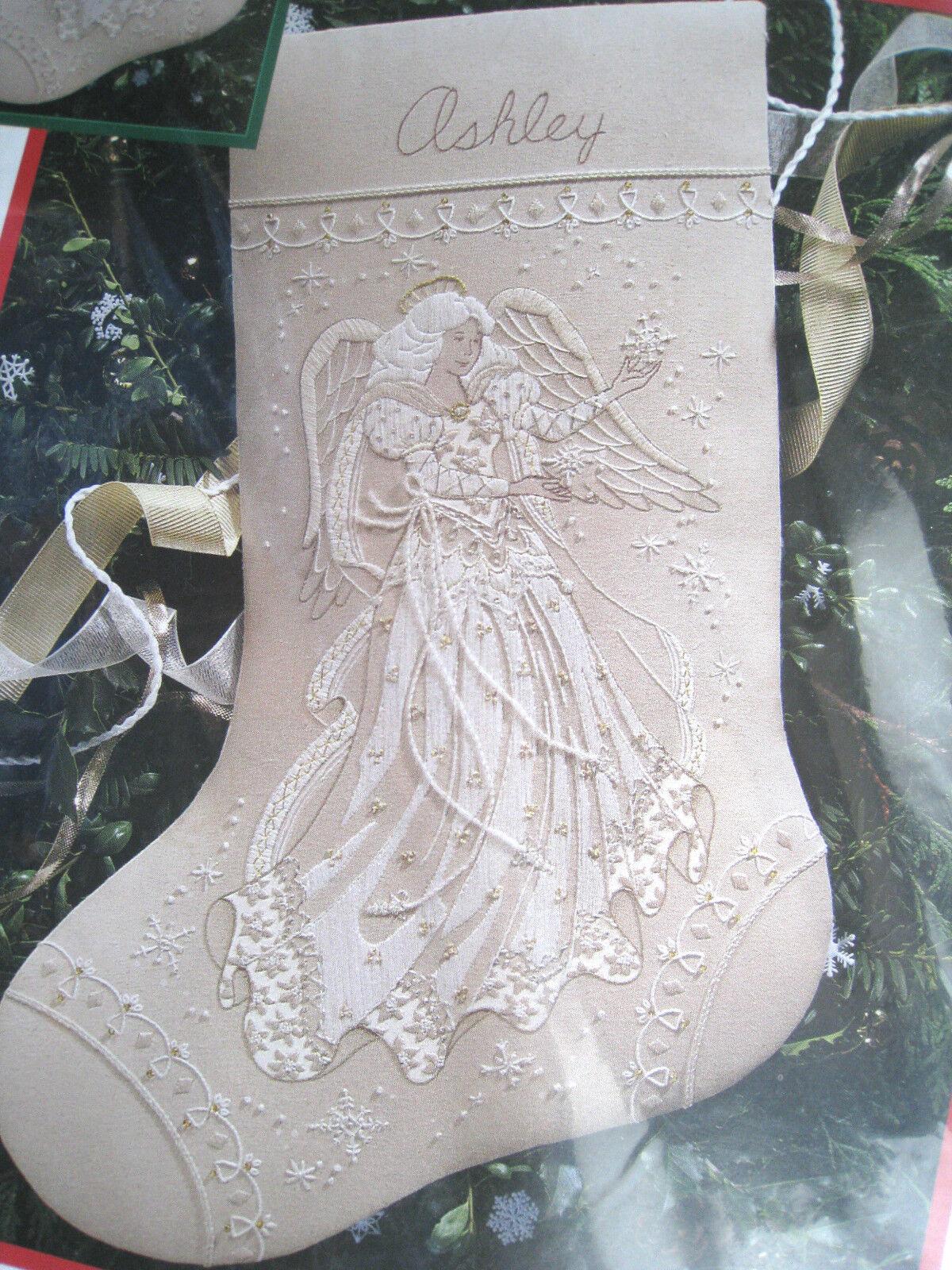 Angel Christmas Stocking