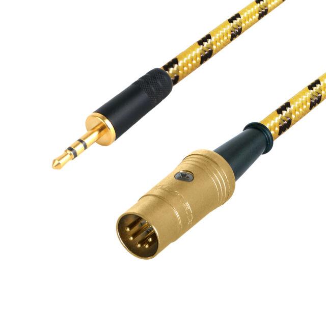 Naim Premium AUX Input Cable. 3.5mm Mini Jack to 5 Pin DIN Audio ...